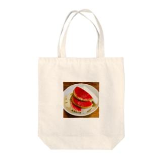 紅芯大根の浅漬け Tote bags