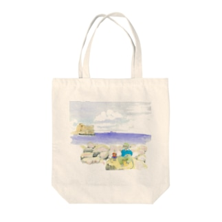 卵城 トート Tote bags