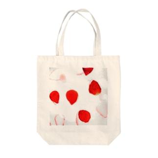 苺推しフルーツ Tote bags