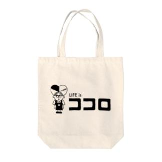 ココロロゴ Tote bags