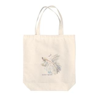 ばすてのショーベタ✳オペックホワイト Tote Bag