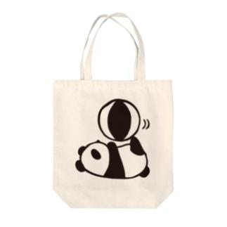 パンダボール Tote bags