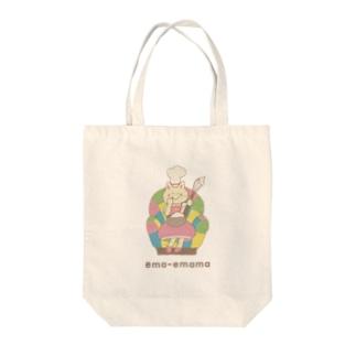 ema-emama『sweet-cat』 Tote bags