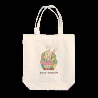 やたにまみこのema-emama『sweet-cat』 Tote bags