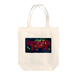 RED KABA Tote bags