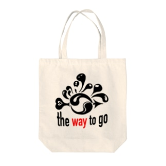 The Way To Go Tote bags