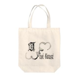 I ♡ WestCoast Tote bags