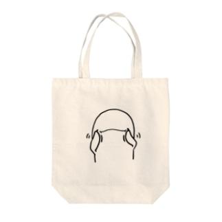 ゆるかわスナメリ Tote bags