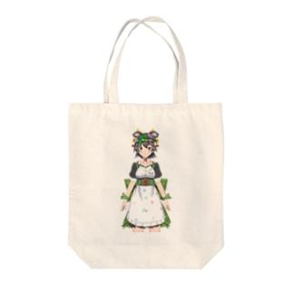 黒沢うしみトート Tote bags