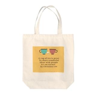 HYDELOVEのciel♡bule♡ Tote bags