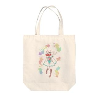 リオネちゃん2 Tote bags