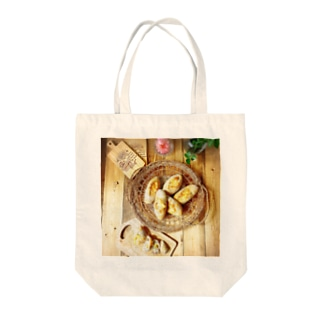 おうちじかんパン活 セミハードパン Tote bags