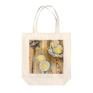 おうちじかんパン活 レモンクリームパン Tote bags
