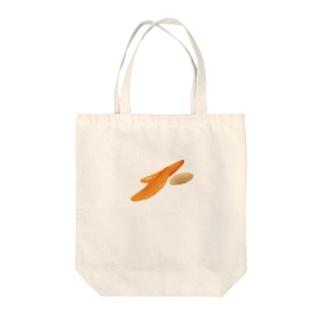 柿ピーはおいしい Tote bags
