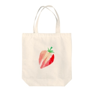 いちご② Tote bags