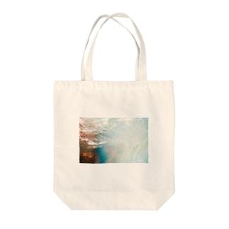 泡沫 Tote bags