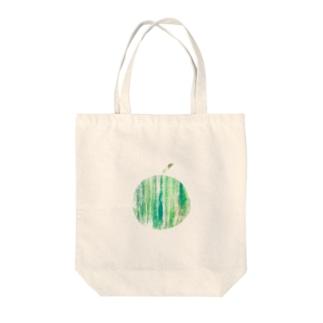 まるごとスイカ Tote bags