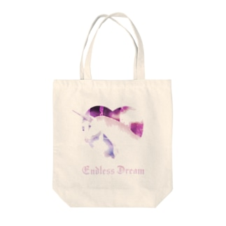Endless Dream #Pink Tote bags