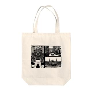 スペインの街並み詰め合わせ Tote bags
