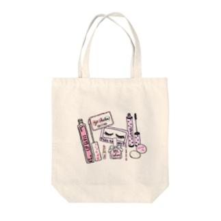トートバック  可愛い化粧品♡ Tote bags