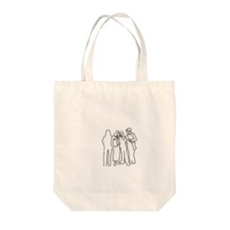 陰キャと陽キャ Tote bags