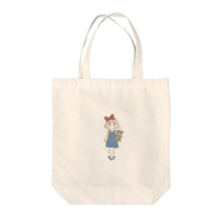 くまじょちゃん Tote bags