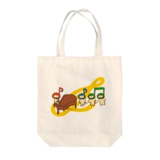 音楽ねこ / The Music Tote Bag