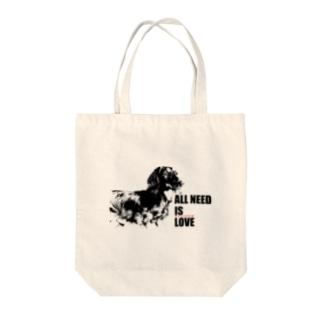 アイコソスベテ(淡色商品専用) Tote bags