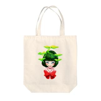 わかばっ子 Tote bags