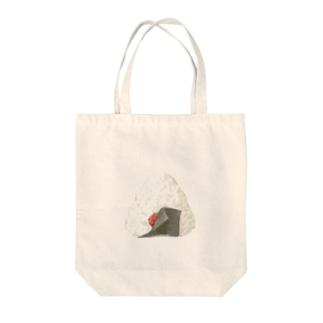 梅おにぎり Tote bags