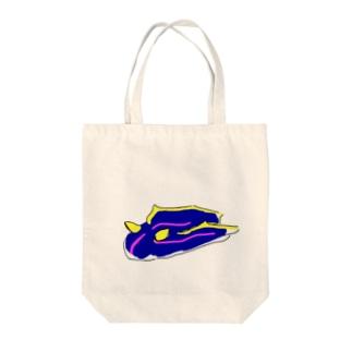 ウミウシ Tote bags