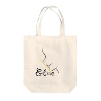 Eライン Tote bags
