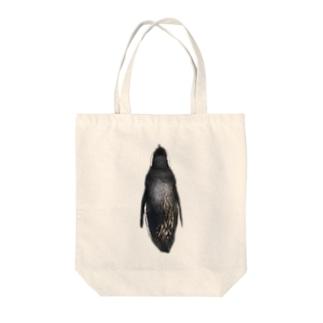 背中にペンを飼う Tote bags