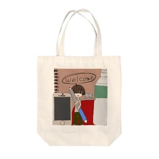 かばんの住人 Tote bags