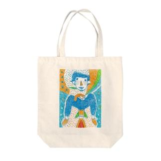 スモーキングスペース Tote bags