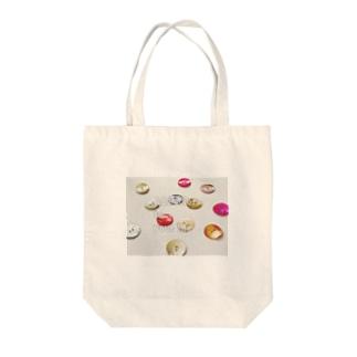 あなたの人生に彩りを Tote bags