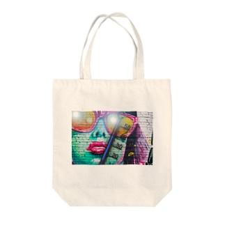サマータイム Tote bags