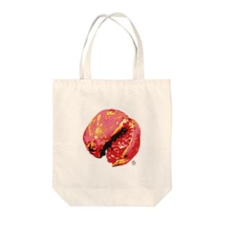 デジタルザクロ柄 Tote bags