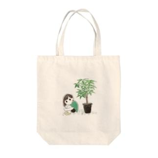 shimaのあたしとパキラ Tote bags
