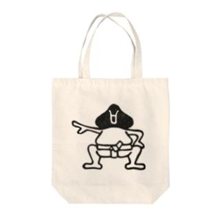 相撲 後ろ姿 Tote bags