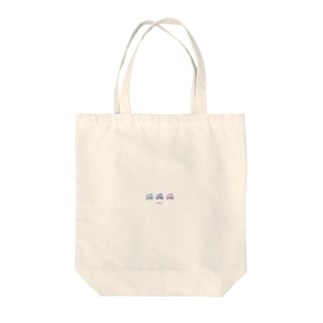 3 dolphin Tote bags