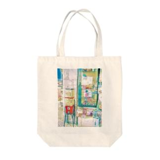 ガチャのある風景@リスボン Tote bags