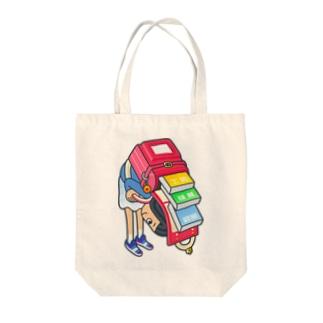 アッちゃん!おっちょこちょい Tote bags