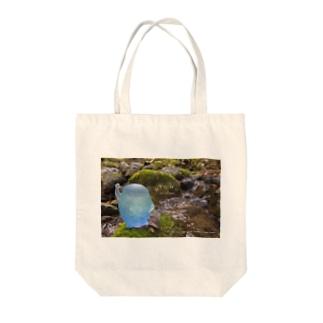 こんにちは〜おとも〜 Tote bags