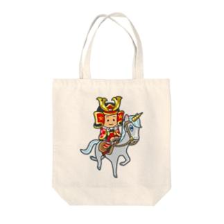 武士くん Tote bags