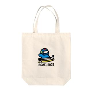Shibata Tomoyaの#ボートレーサーくん Tote bags