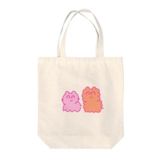 Mimimiのよつあしのどうぶつ Tote bags