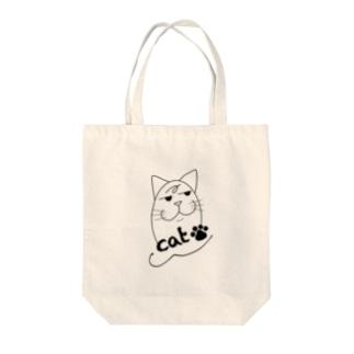 犯人はネコ〜cat〜 Tote bags