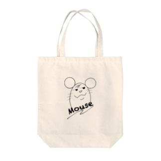 犯人はネズミ〜Mouse〜 Tote bags