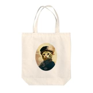 Lady Sarah R Tote bags